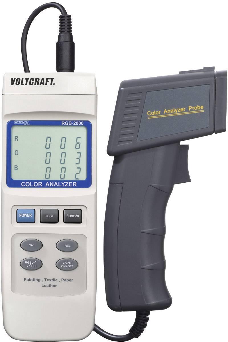 Spektrální analyzátor barev Voltcraft RGB-2000