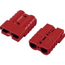 Bateriový konektor TRU COMPONENTS 1229364, červená, 1 ks
