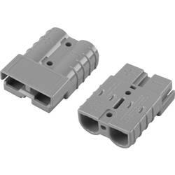 Bateriový konektor TRU COMPONENTS 1229367, šedá, 1 ks