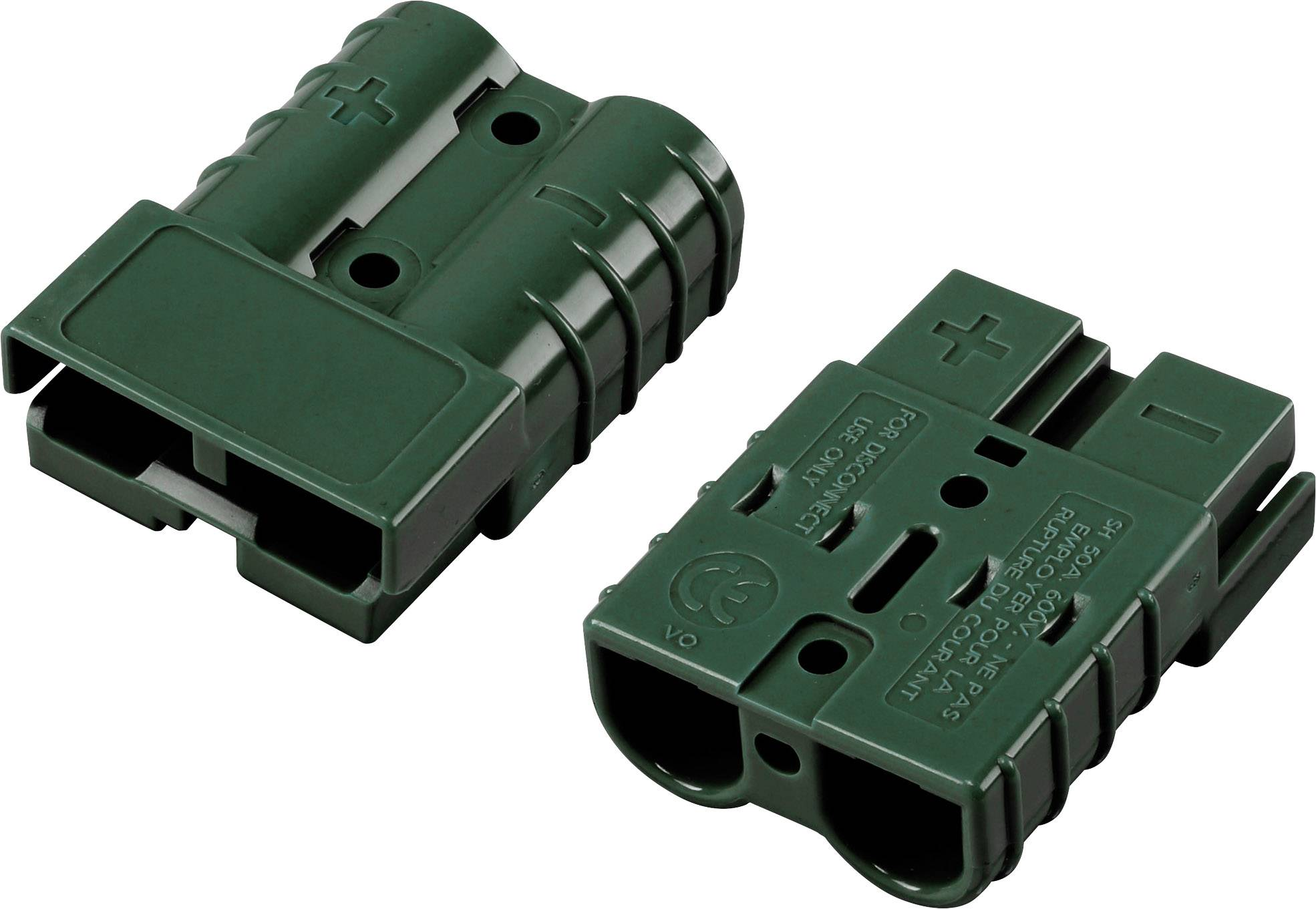 Konektor TRU COMPONENTS 1229368, zelená, 1 ks