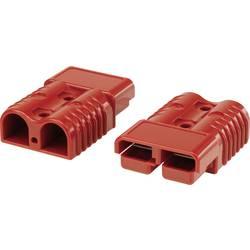Bateriový konektor TRU COMPONENTS 1229375, červená, 1 ks