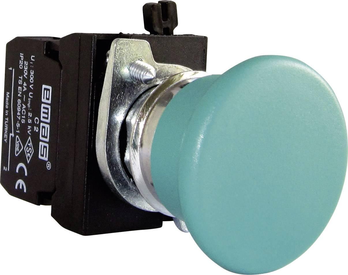 Kulové tlačítko EMAS CM200MY, zelená, 1 ks
