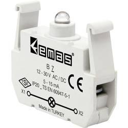 LED kontrolka EMAS B7, modrá, 30 V DC/AC, 1 ks