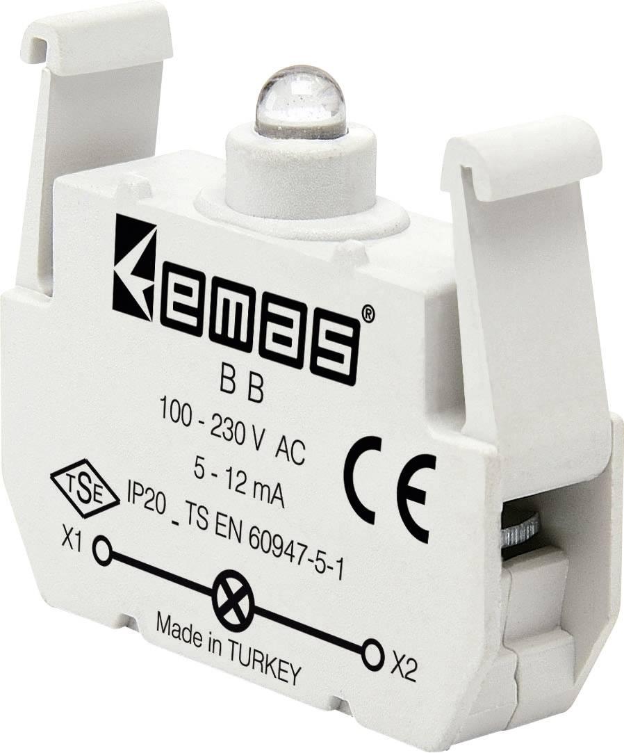 LED element EMAS BB, biela, 230 V/AC, 1 ks