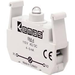 LED kontrolka EMAS BM-4, modrá, 110 V DC/AC, 1 ks