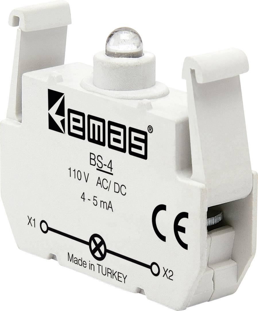 LED kontrolka EMAS BS-4, žlutá, 110 V DC/AC, 1 ks