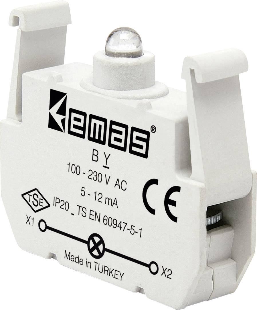 LED element EMAS BY, zelená, 230 V/AC, 1 ks