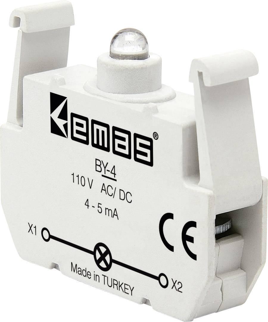 LED element EMAS BY-4, zelená, 110 V DC/AC, 1 ks