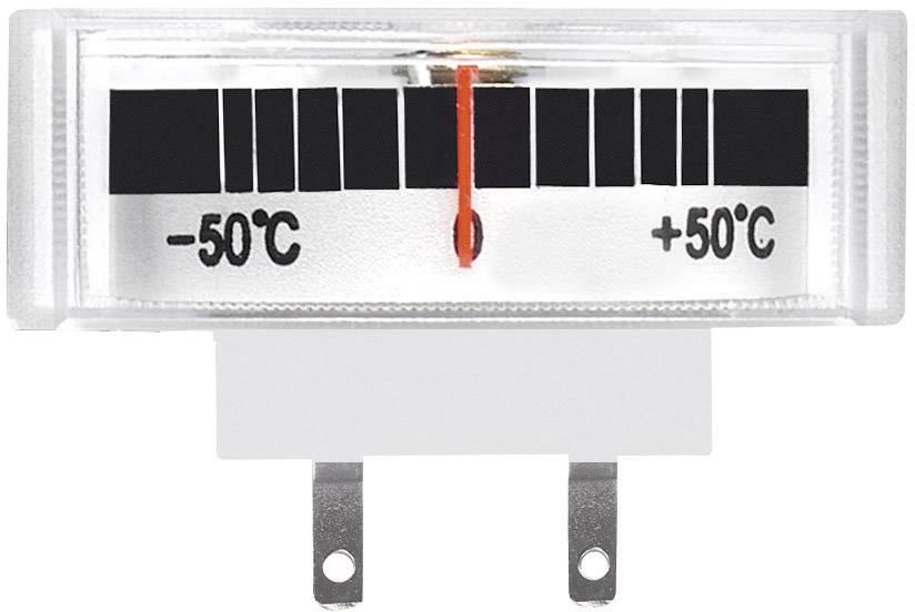 Panelové meradlo teploty Voltcraft AM-39X14/TEMP, - 50 až + 50 °C