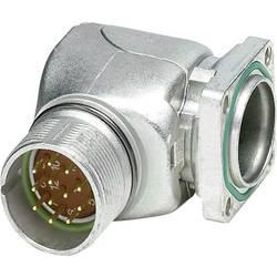 M23 konektor zařízení. zahnutý. otočná Phoenix Contact RF-17P1N8AAD00 1607328, stříbrná, 1 ks
