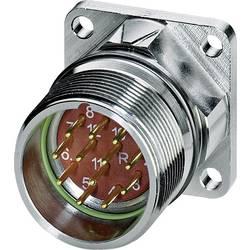 M23 konektor zařízení. rovná Phoenix Contact RF-12P1N8AWA00 1607236, stříbrná, 1 ks