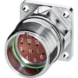 M23 konektor zařízení. rovná Phoenix Contact RF-12S1N8AWA00 1607283, stříbrná, 1 ks