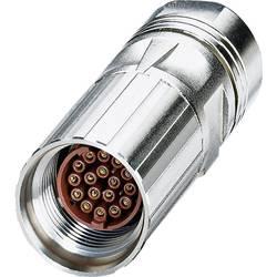 M17 kabelový konektor Phoenix Contact ST-17S1N8A8003 1607641, stříbrná, 1 ks