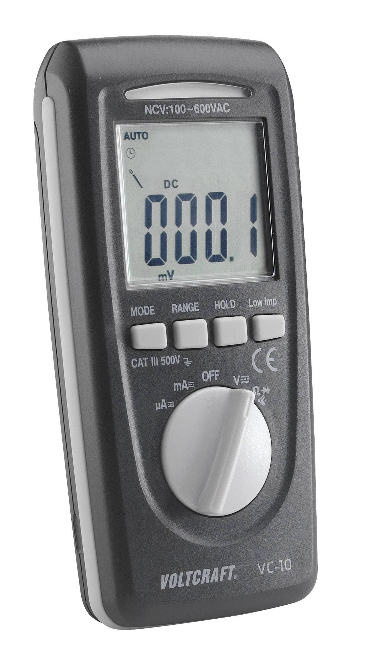 Digitálne/y ručný multimeter VOLTCRAFT VC-10 VC10