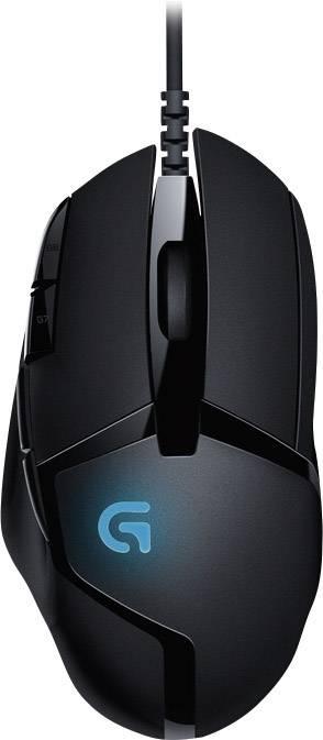 Optická USB herná myš Logitech Gaming G402 Hyperion Fury 910-004067, čierna