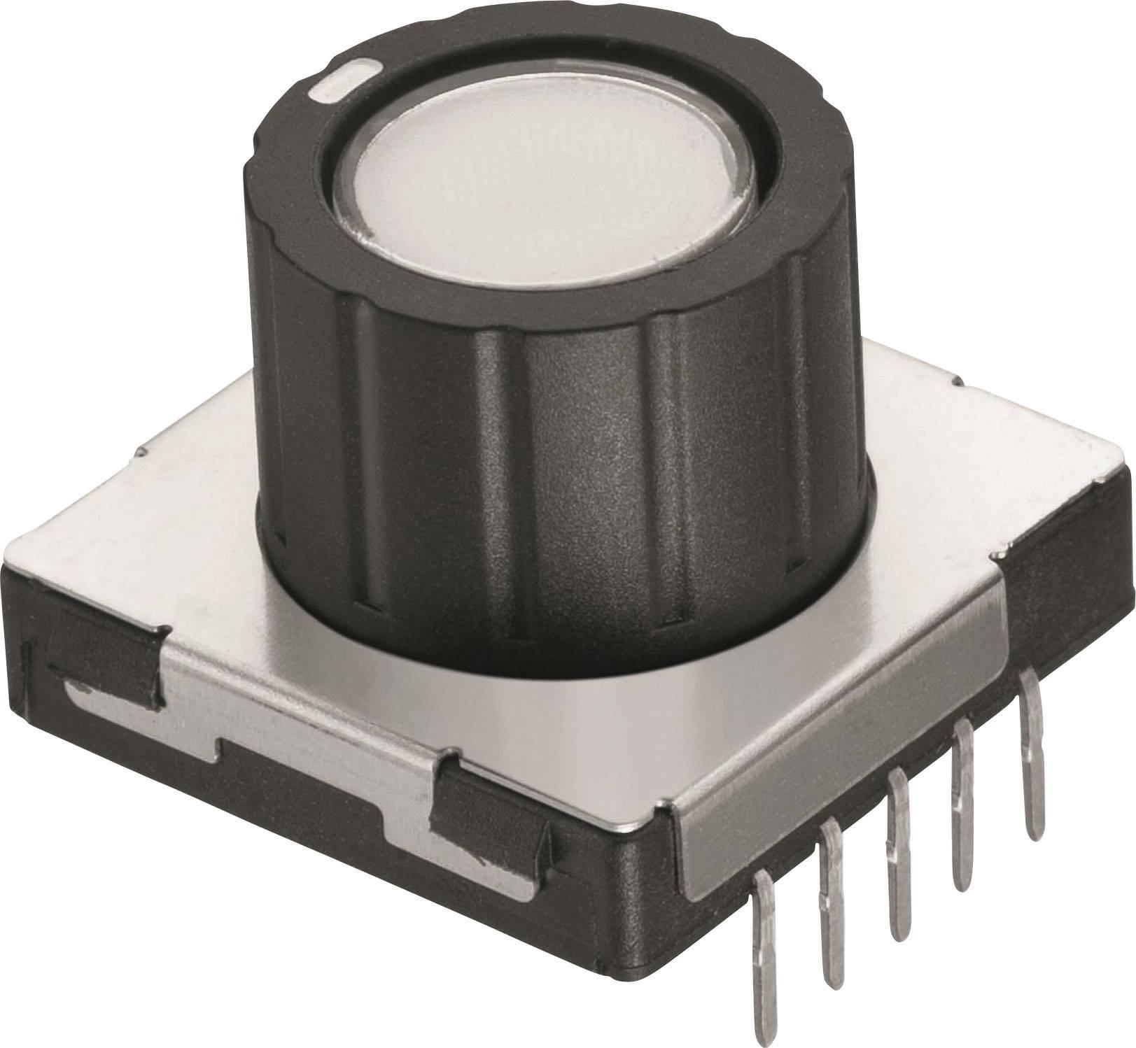 Otočný spínač Würth Elektronik WS-RPTL 481RV12172100, 12 V/DC, 0.1 A, pozice 8, 1 ks