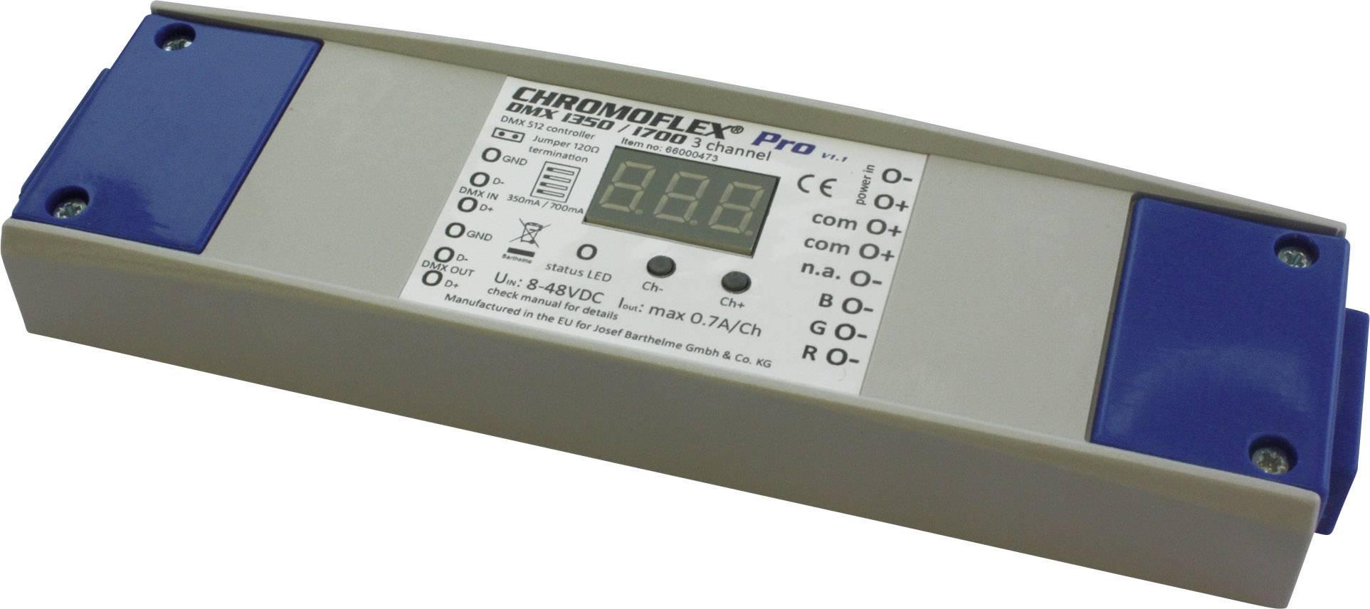Stmievač CHROMOFLEX® Pro DMX Barthelme pre napájanie LED svetelných pásov