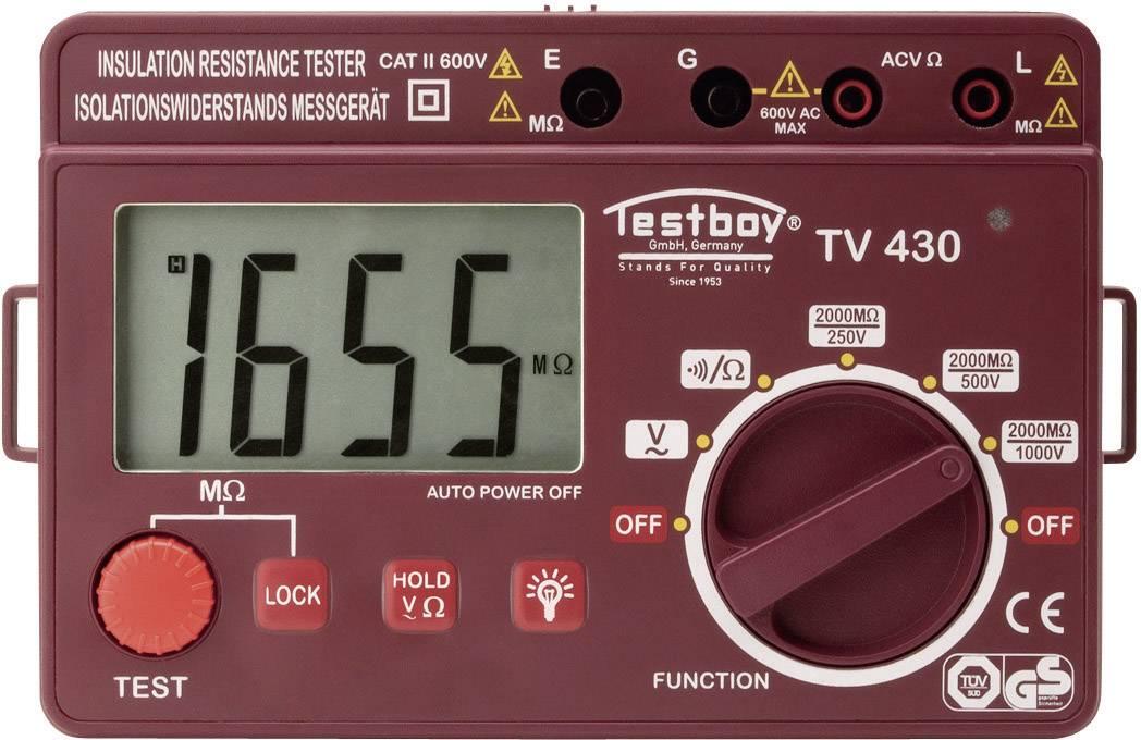 Digitálny merač odporu izolácie Testboy TV 430N