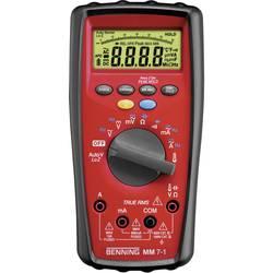 Digitálne/y ručný multimeter Benning MM 7-1 044085, kalibrácia podľa ISO