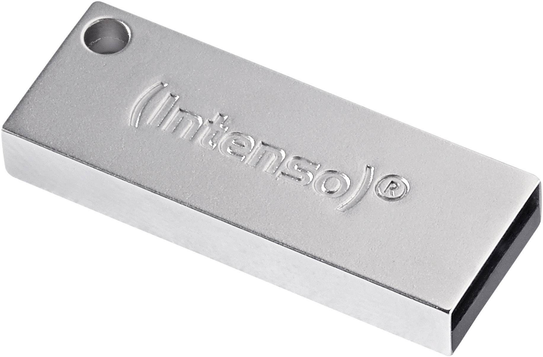 USB flash disk Intenso Premium Line 3534460, 8 GB, USB 3.0, stříbrná