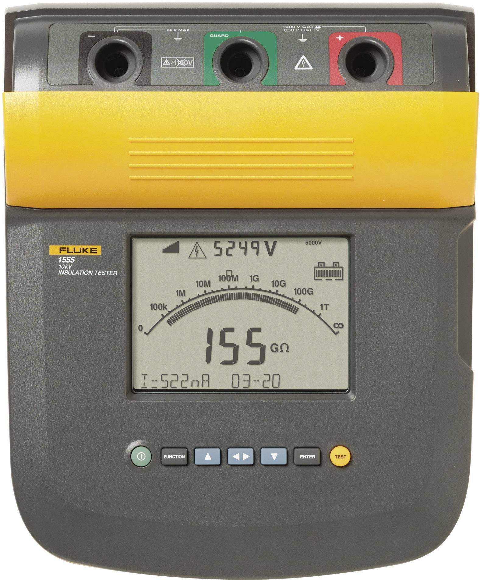 Tester izolace Fluke 1555, Fluke Connect, 3665056