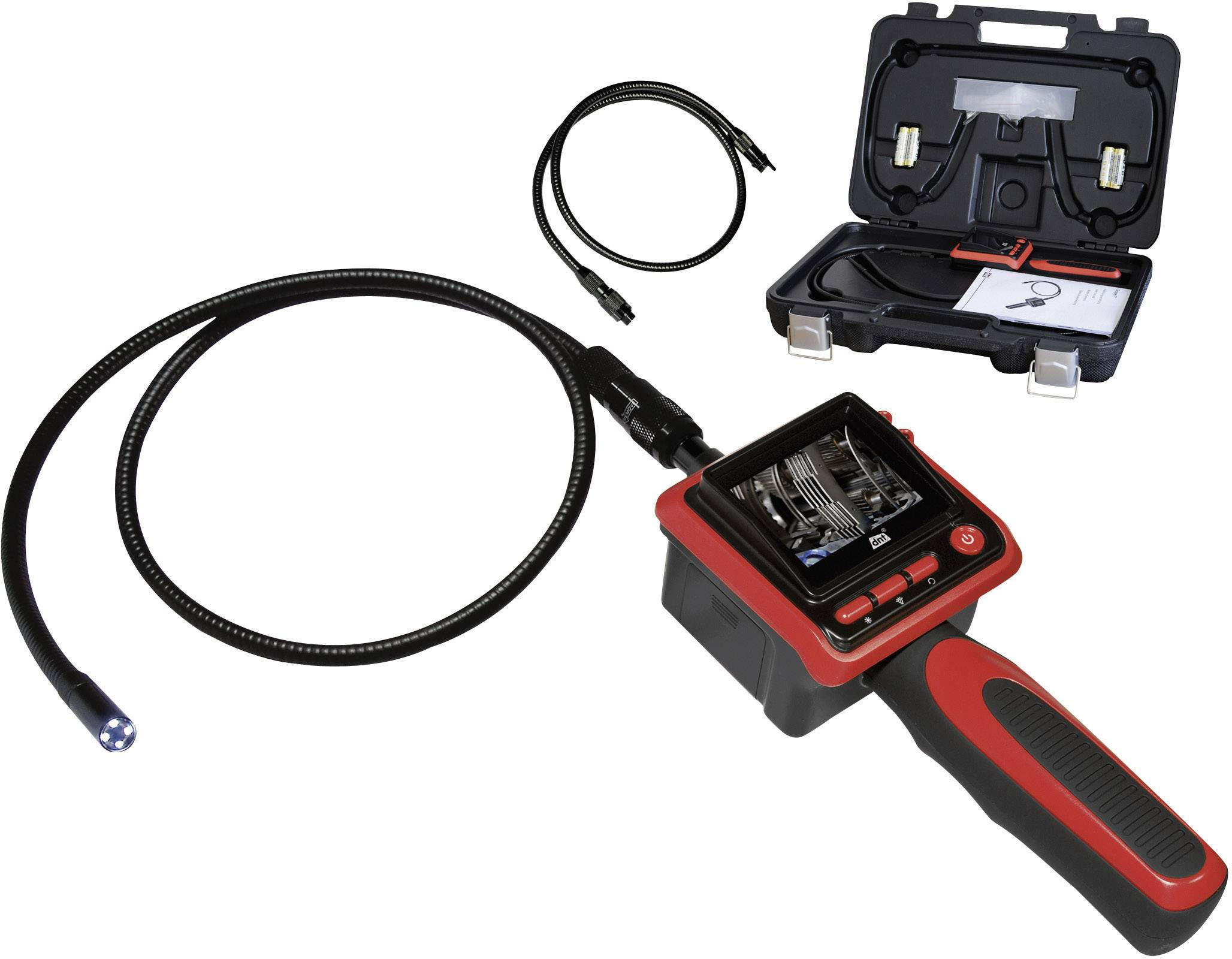 Endoskop + sonda Ø 9 mm, dĺžka 190 cm, dnt ScopeIT
