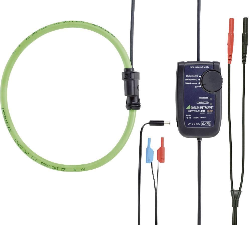 Kliešťový prúdový adaptér Gossen Metrawatt Metraflex 3001