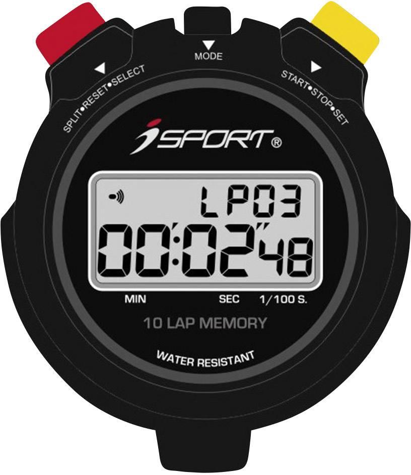 Digitálne stopky iSport JG021 Pro, čierna
