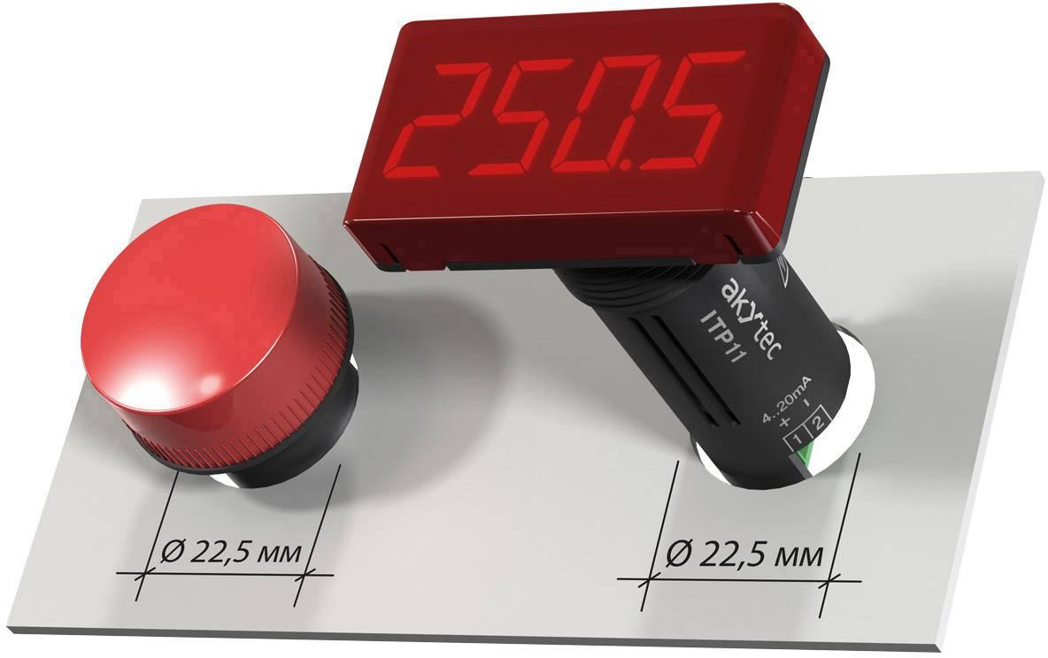 Digitálny voltmeter Akytec, INS-F1, AC 5V - 400V