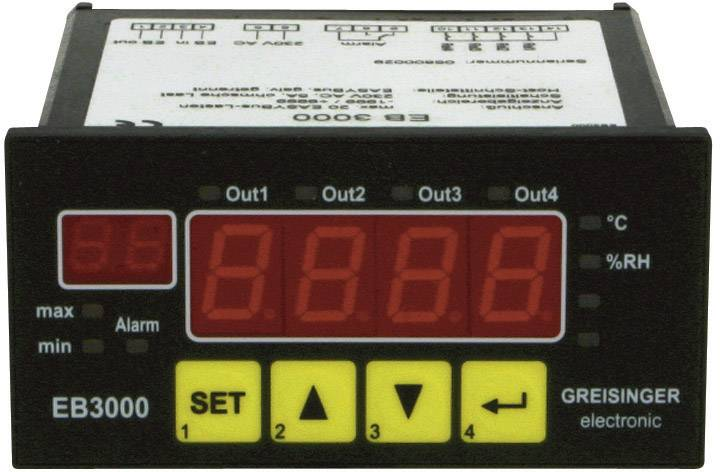 Vestavný měřič vlhkosti Greisinger EB3000, 112750