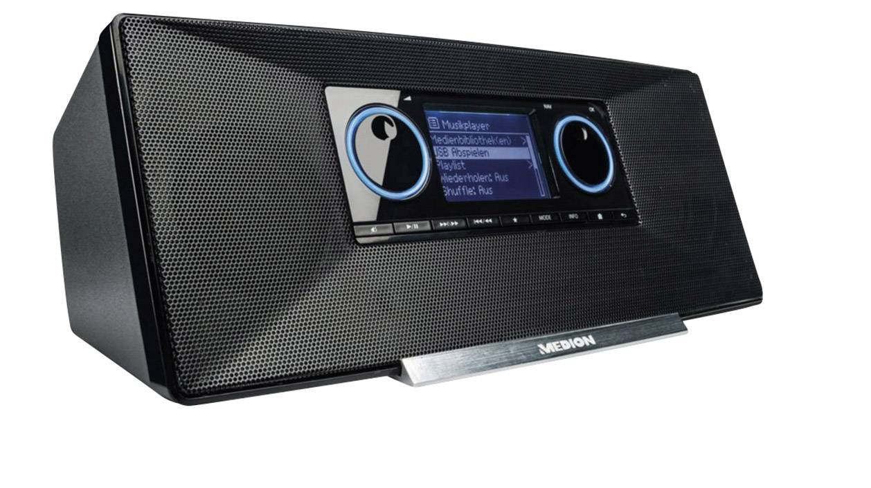 Internetové, DAB+ a FM rádio Medion Life P85035, Wi-Fi, USB