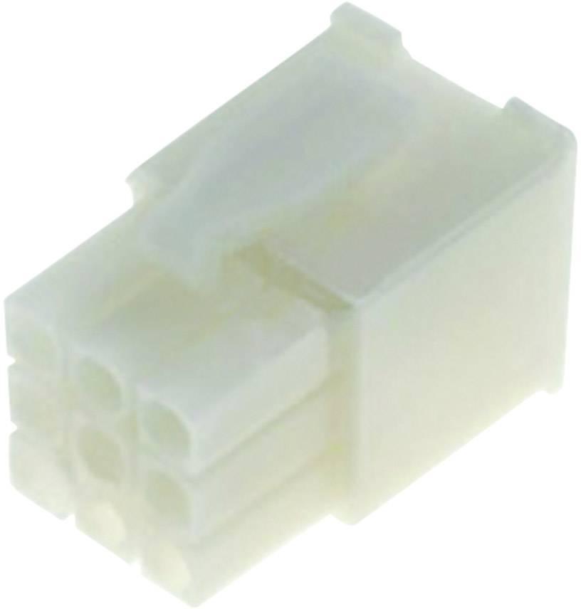 Zástrčkový konektor na kábel TE Connectivity Mini-Universal MATE-N-LOK 172170-1, 23.7 mm, pólů 12, rozteč 4.20 mm, 1 ks