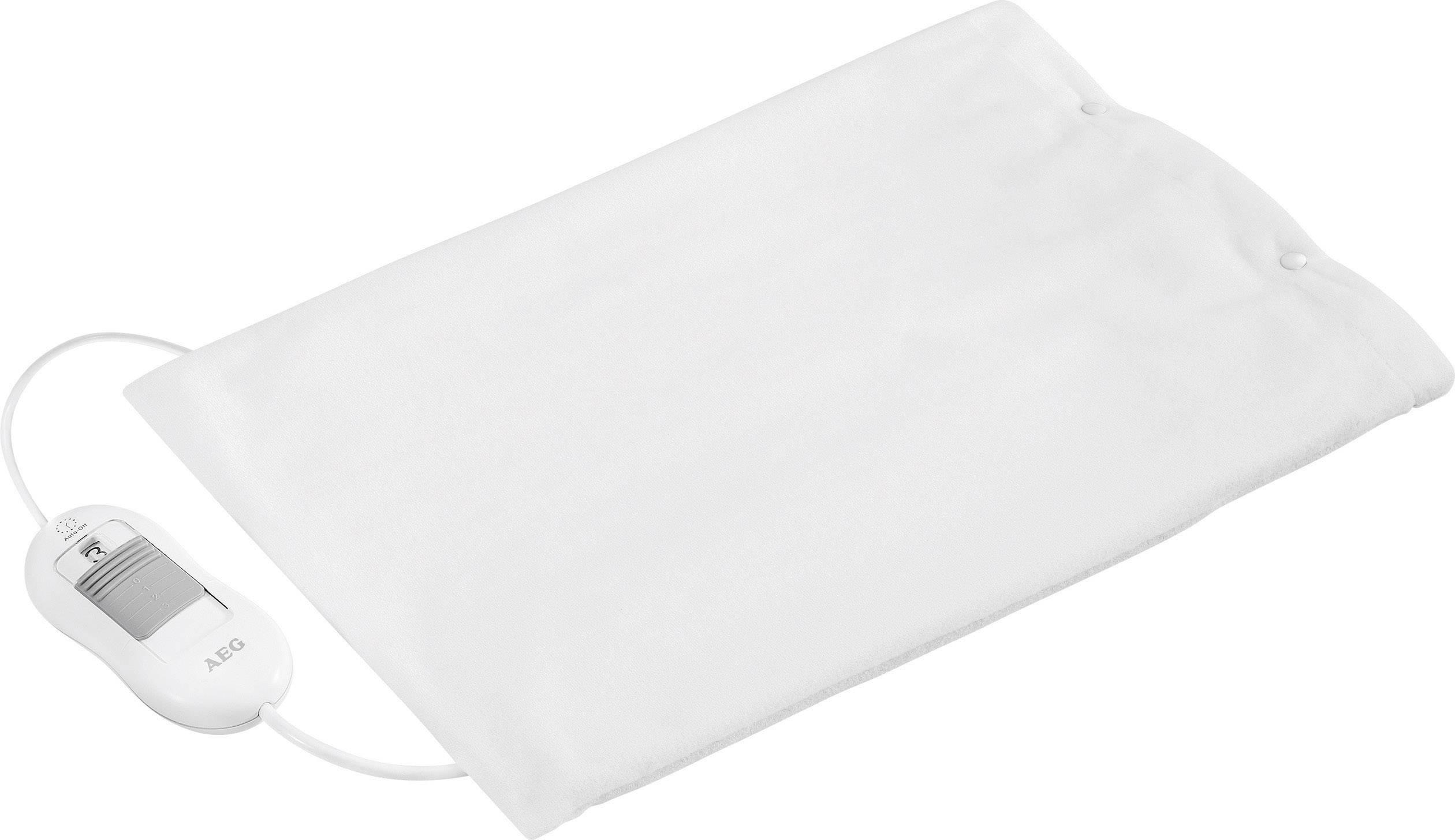Vyhřívací polštářek AEG HK5646, 100 W, 40 cm x 30 cm , bílá