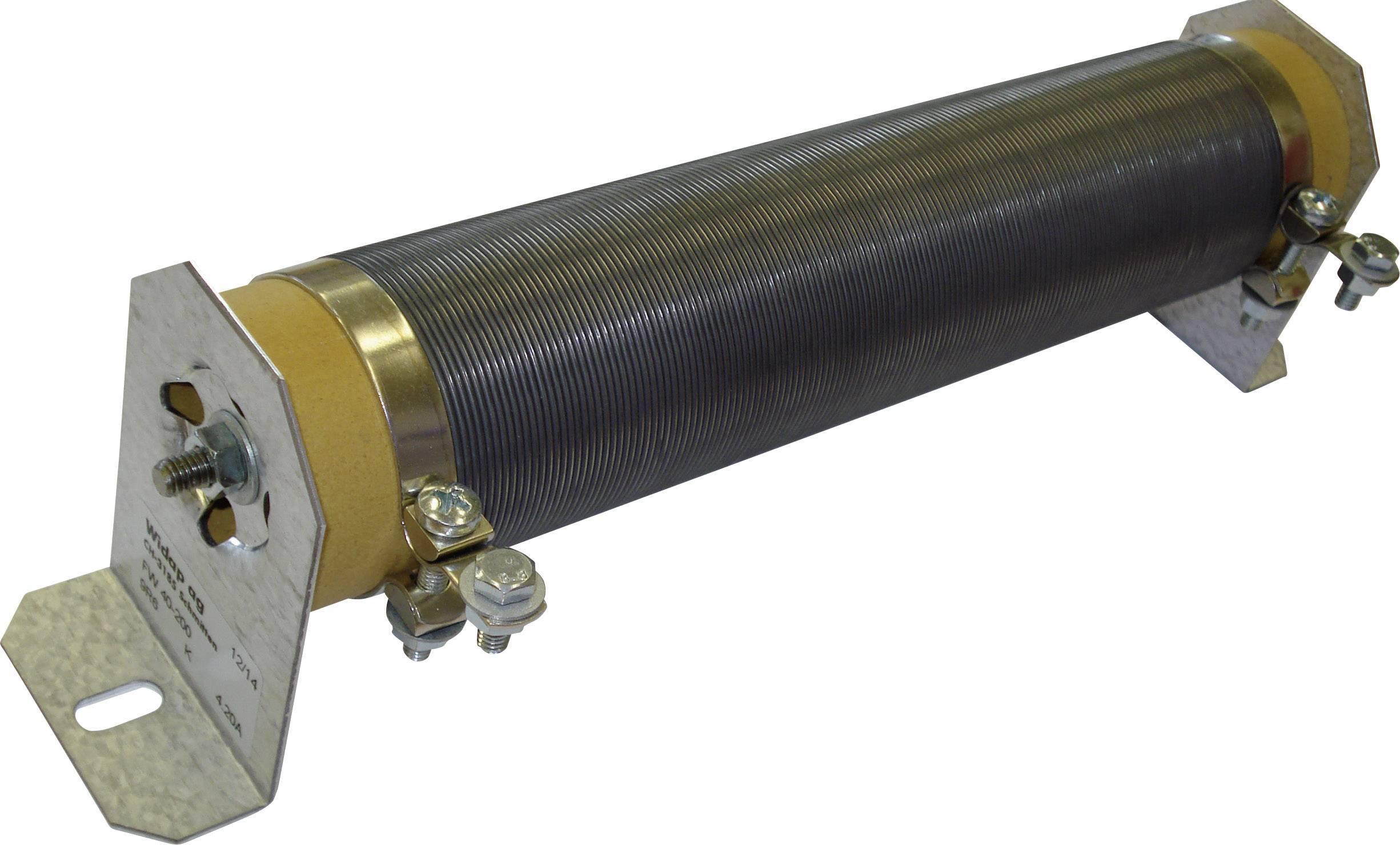 Odpor potrubia Widap FW40-300 5R1 K, hodnota odporu 5.1 Ohm, skrutkový kontaktný prvok, 300 W, 1 ks