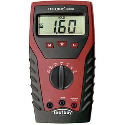 Digitálne/y ručný multimeter Testboy TB-3000 TB-3000, kalibrácia podľa ISO