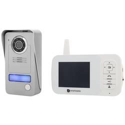 Bezdrátový domovní video telefon Smartwares VD38W, šedá, stříbrná