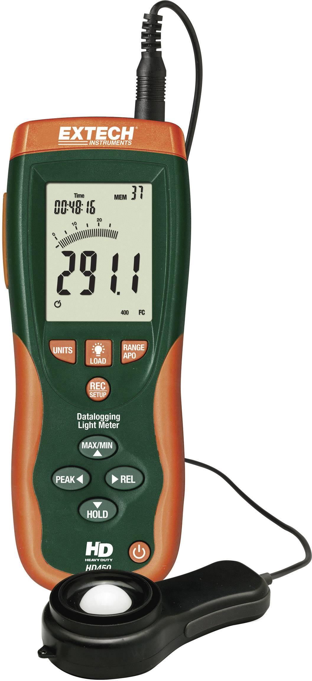 Luxmeter Extech HD-450, 0, 1 - 400 000 lx