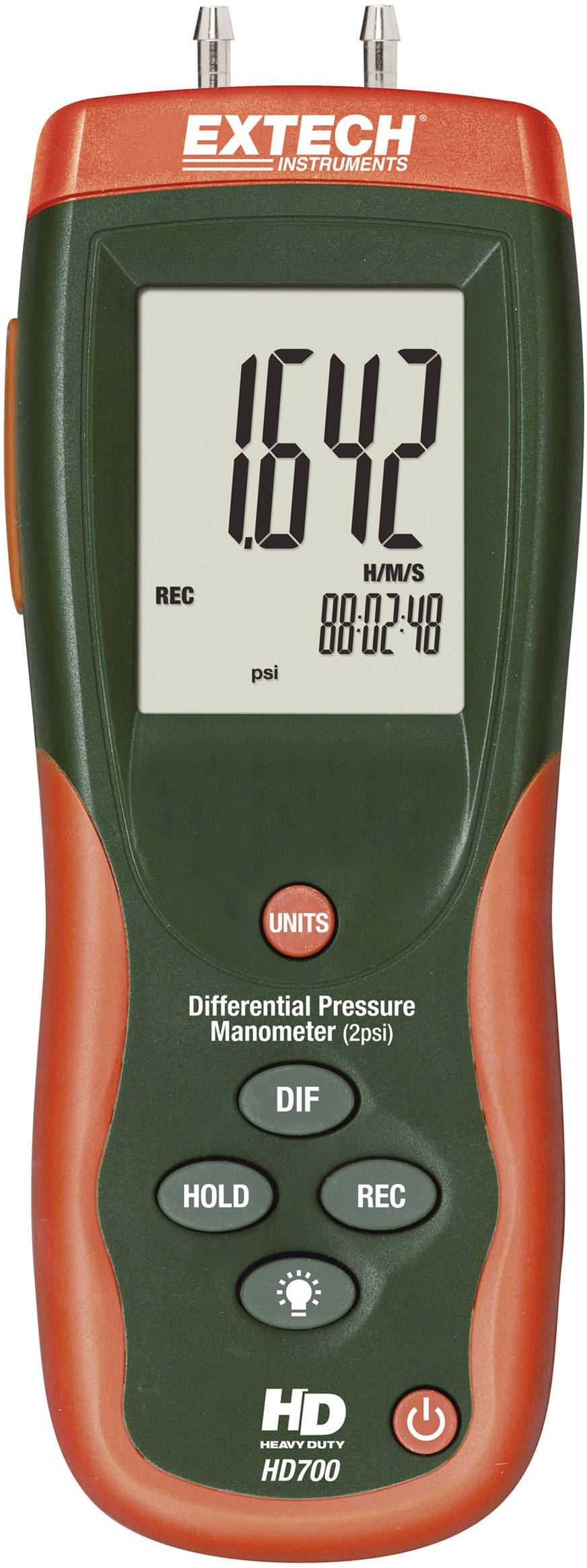 Diferenčný manometer Extech HD-700