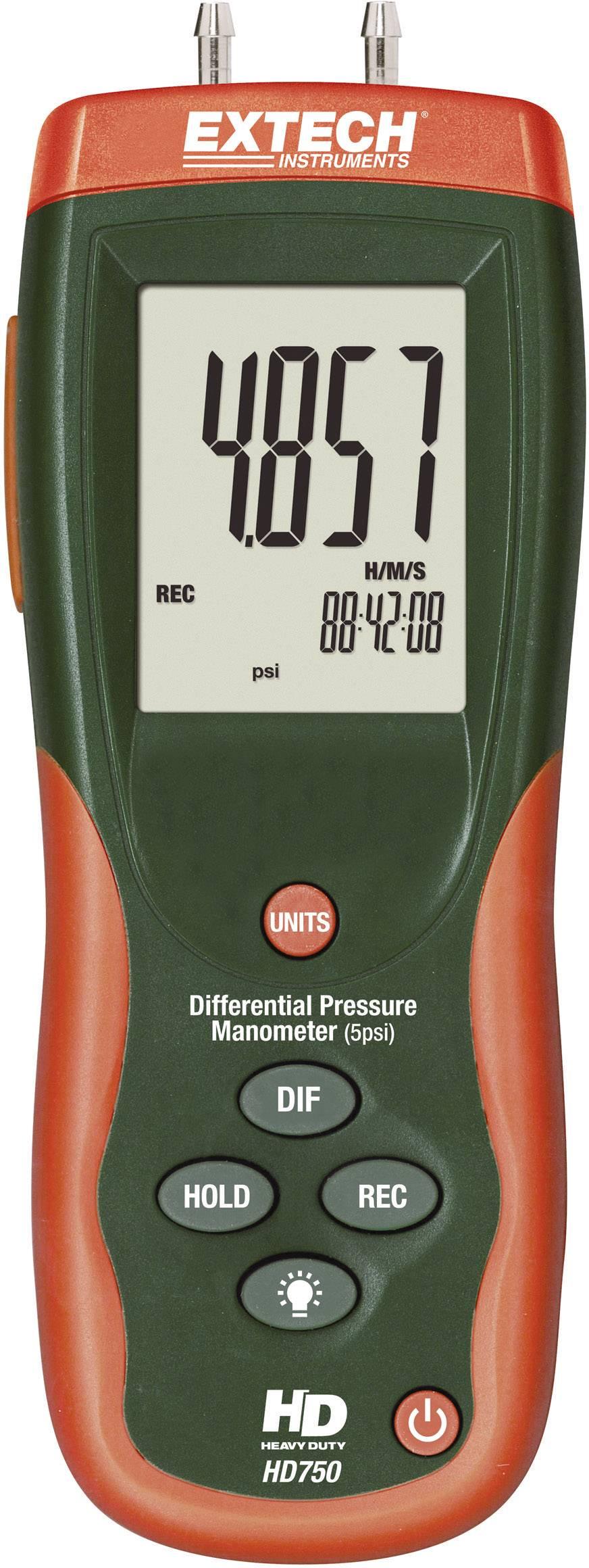 Diferenčný manometer Extech HD-750