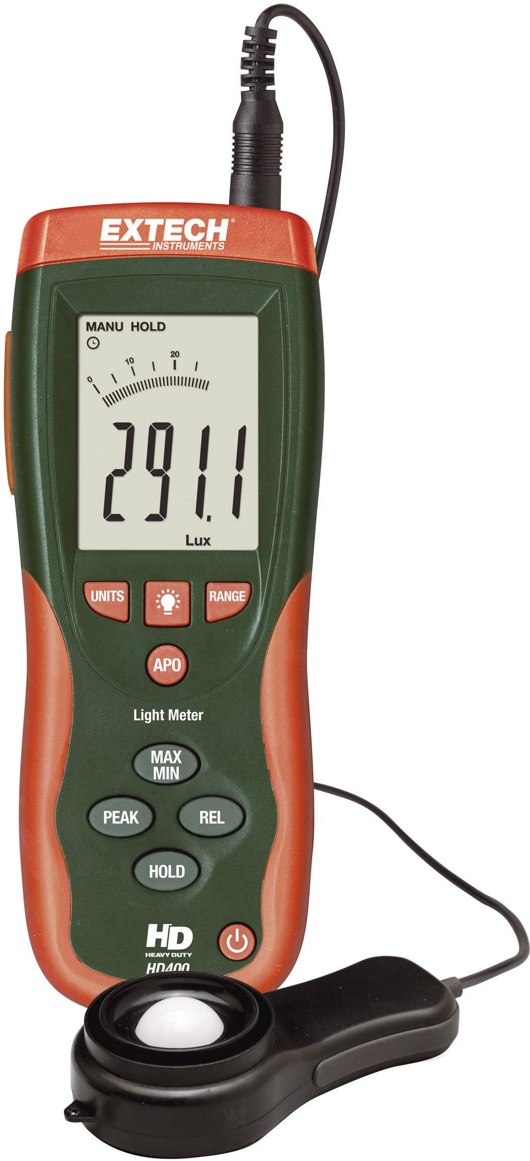 Luxmeter Extech HD-400, 0, 1 - 400 000 lx