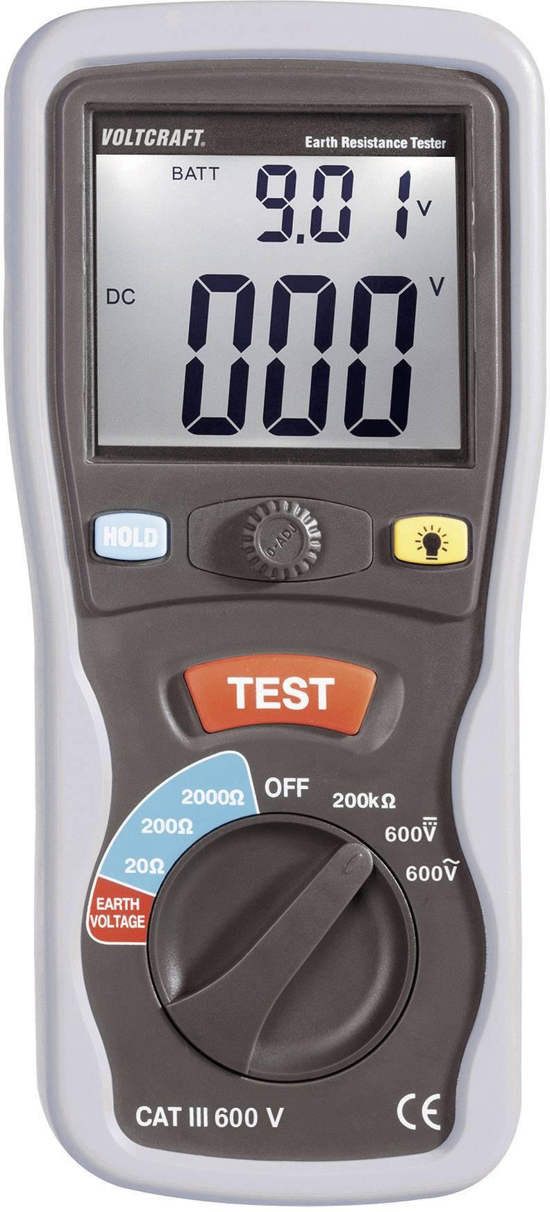 Digitální měřič uzemnění ET-02, kalibrováno dle ISO