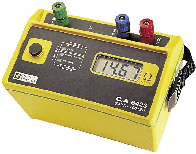 Měřič zemního odporu CA 6423, kalibrováno dle ISO
