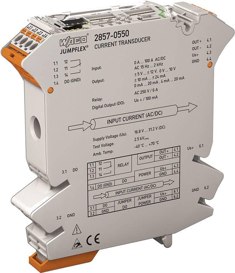 Proud měřicí převodník JUMPFLEX® WAGO 2857-550 1 ks