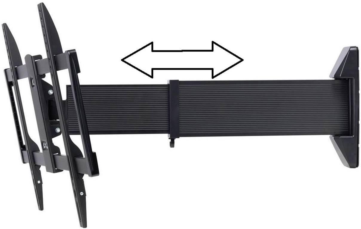 "TV držák na zeď SpeaKa Professional Wall Premium, naklápěcí + nakláněcí, otočný, 94,0 cm (37"") - 177,8 cm (70"")"