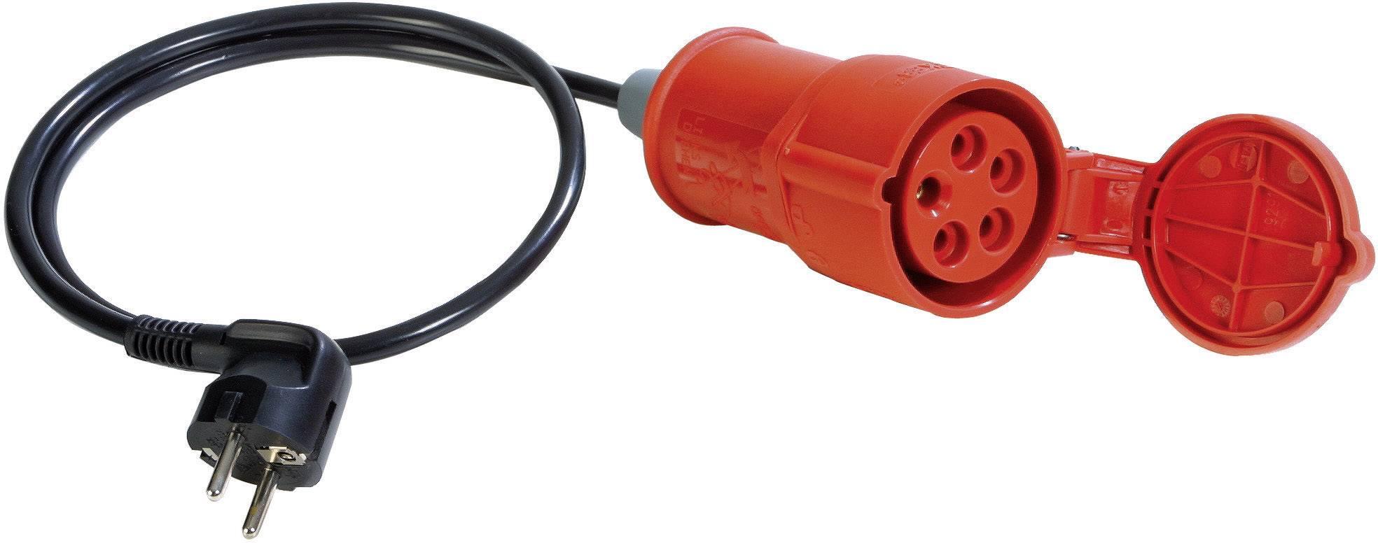 Měřicí adaptér Benning, CEE spojka <=> síťová zástrčka, pro CM 9, 16 A