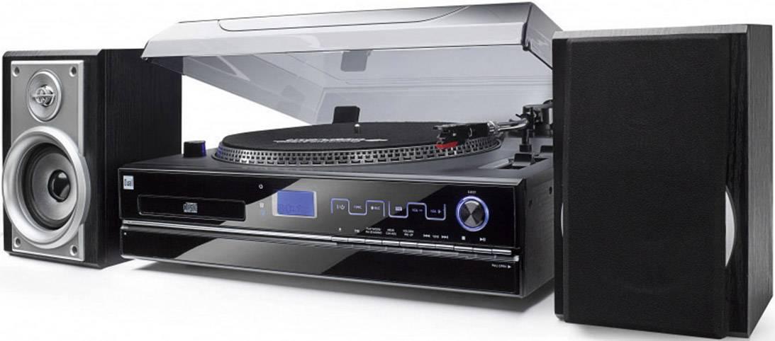 USB gramofón Dual NR 100 čierna