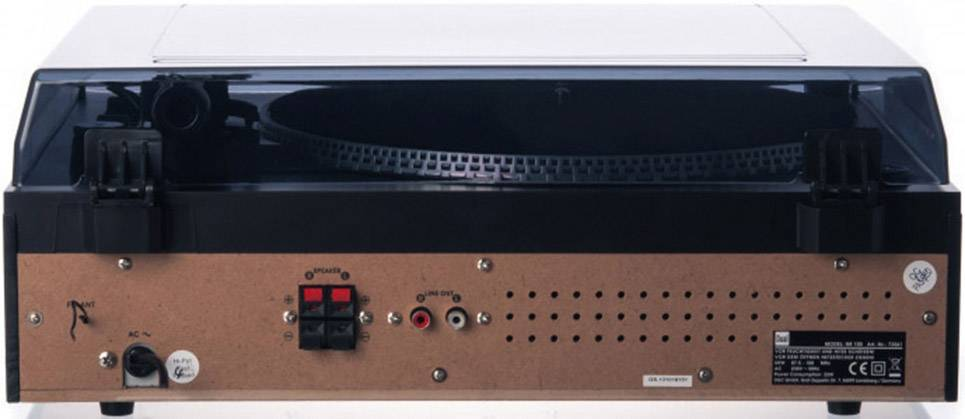 USB gramofon Dual NR 100, černá