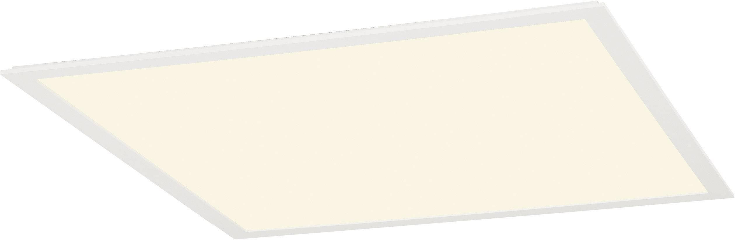 LED panel SLV 158613, 39.5 W, teplá bílá, bílá (matná)