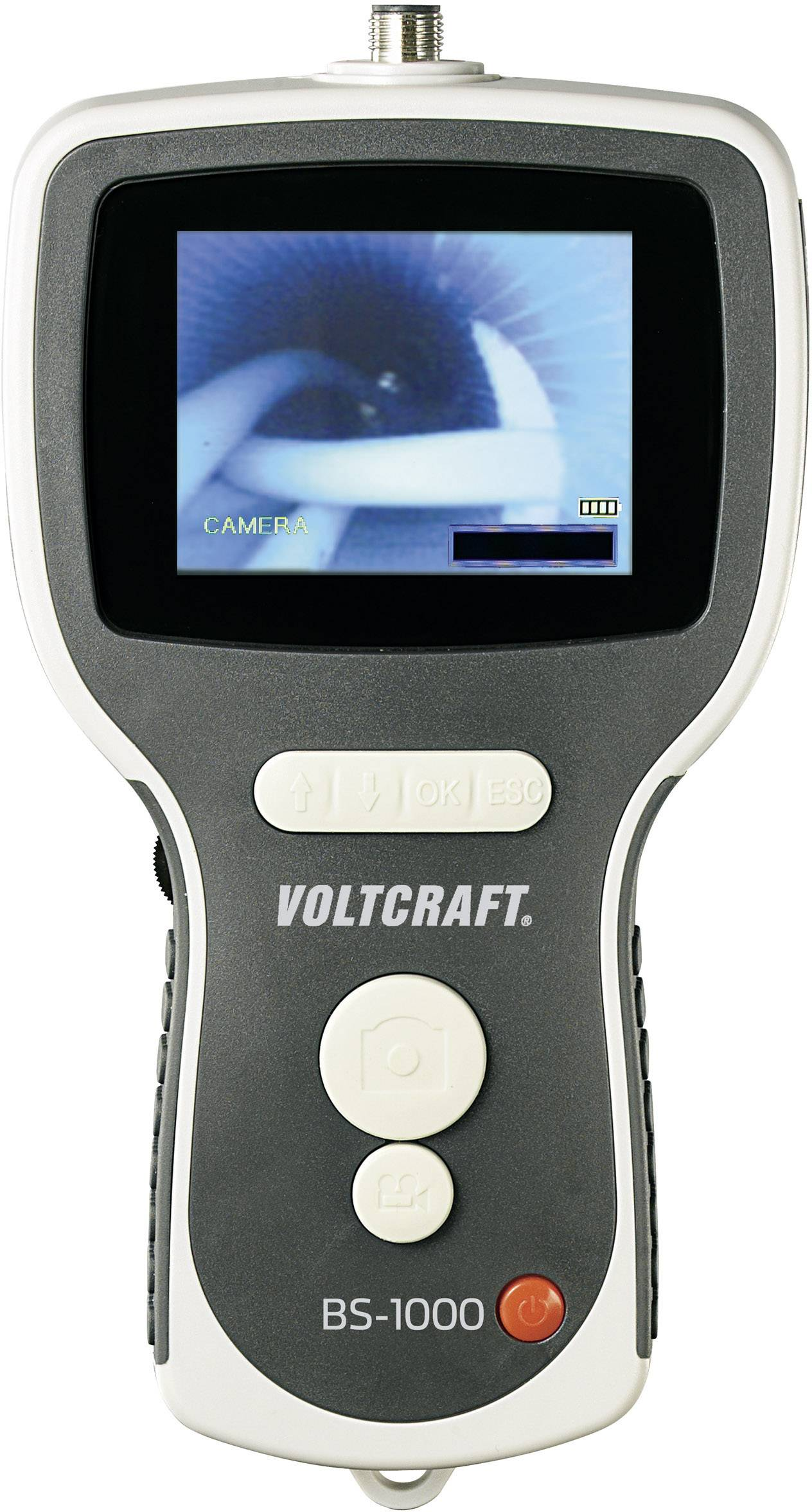 Monitor pre endoskopické kamery Voltcraft BS-1000T