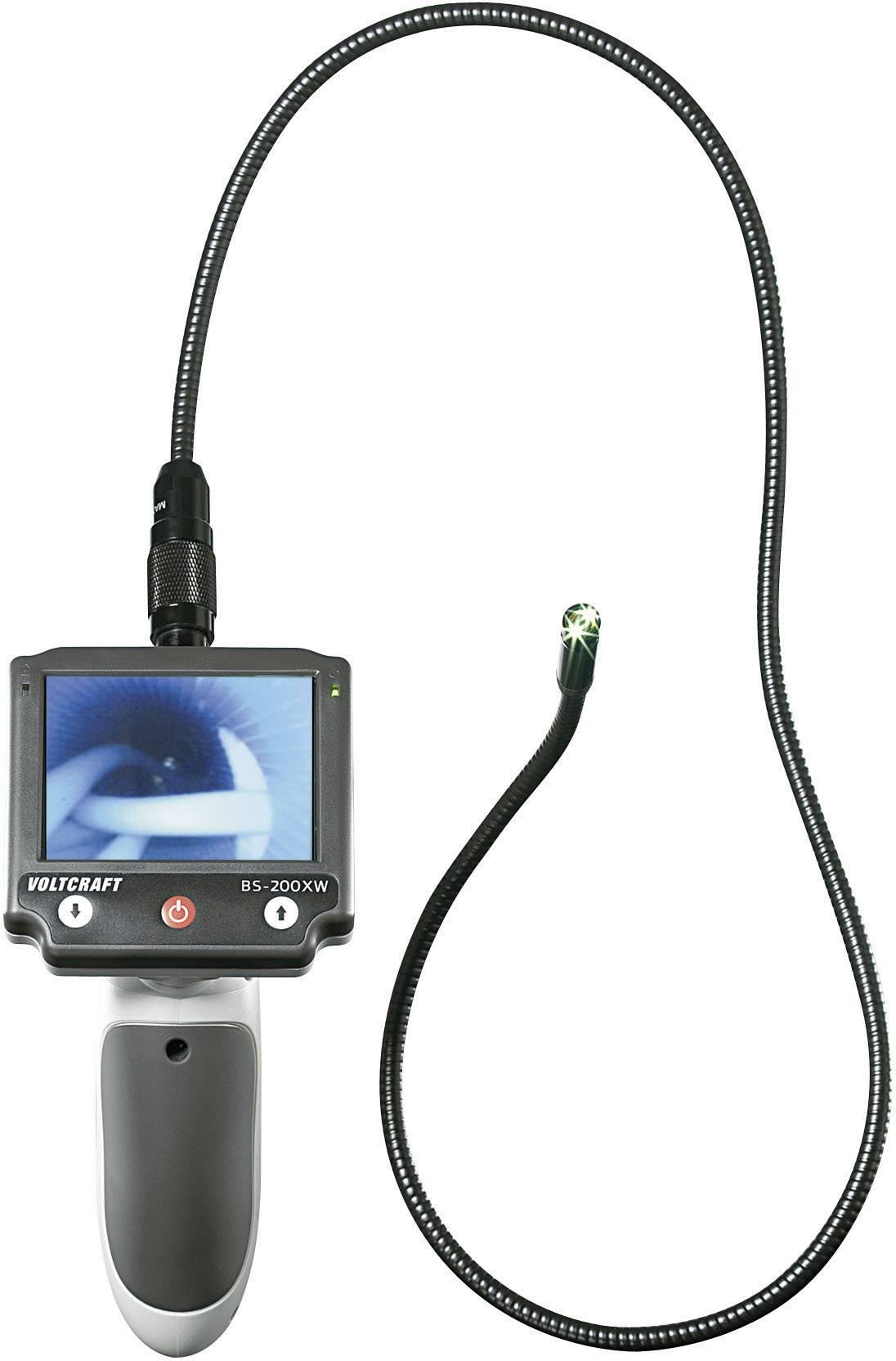 Endoskop s odnímatelným displejom VOLTCRAFT BS-200XW, Ø sondy 8 mm, délka sondy 88 cm